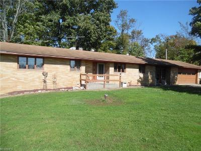 Single Family Home For Sale: 6023 Tallmadge Rd