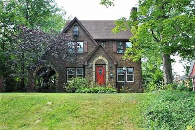Cleveland Heights Single Family Home For Sale: 2924 Meadowbrook