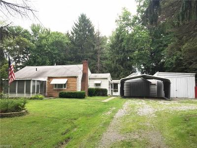 Girard Single Family Home For Sale: 2993 Tibbetts Wick Rd