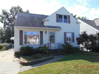Wickliffe Single Family Home For Sale: 29142 Weber Ave