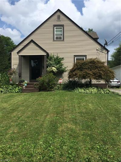 Warren Single Family Home For Sale: 1161 Meadowbrook Ave Southeast