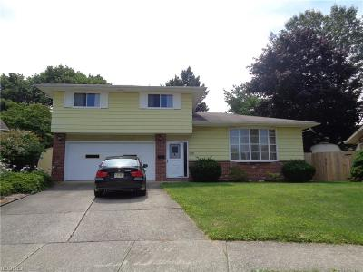 Cleveland OH Single Family Home For Sale: $139,900