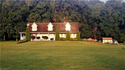 Zanesville Single Family Home For Sale: 4985 North River Rd West