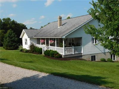 Ashland County Single Family Home For Sale: 3317 Township Road 1079