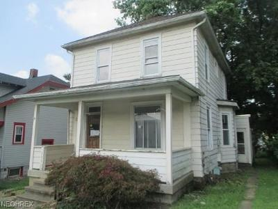 Zanesville Single Family Home For Sale: 1509 Euclid Ave