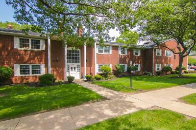 Rocky River Condo/Townhouse For Sale: 2784 Pease Dr #201-N