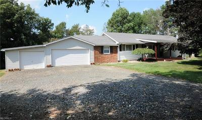 Guernsey County Single Family Home For Sale: 5091 High Hill Rd