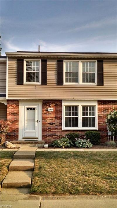 Mentor Condo/Townhouse For Sale: 7384 Willow Run Dr