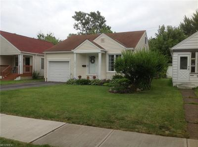 Single Family Home For Sale: 18913 Parkmount Ave