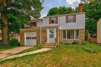Cleveland Heights Single Family Home For Sale: 1131 Haselton Rd