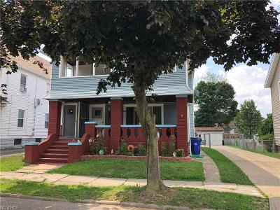 Cleveland OH Multi Family Home Pending: $89,900