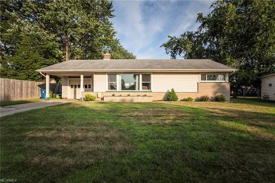 Parma Heights Single Family Home For Sale: 10015 Lynden Oval