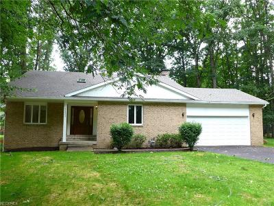 Girard Single Family Home For Sale: 5222 Logan Arms Dr