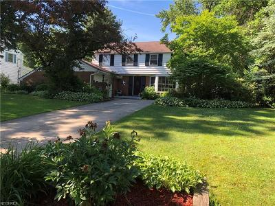 Shaker Heights Single Family Home For Sale: 3158 Somerset Dr