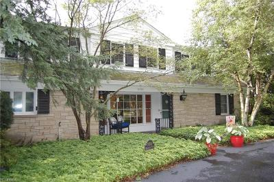 Shaker Heights Single Family Home For Sale: 19700 Marchmont Rd