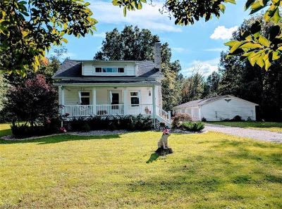 Canfield Single Family Home For Sale: 5433 Shields Rd