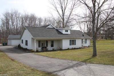 Chardon Single Family Home For Sale: 14298 Chardon Windsor Rd