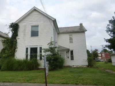 Guernsey County Single Family Home For Sale: 106 North 2nd St