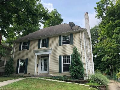 Cleveland Heights Single Family Home For Sale: 1062 Allston Rd