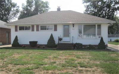 Wickliffe Single Family Home For Sale: 966 Bryn Mawr Ave
