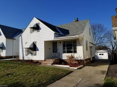 Garfield Heights Single Family Home For Sale: 4968 East 90th St
