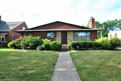 Single Family Home For Sale: 15605 Fischer Rd