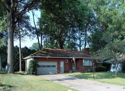 Warren Single Family Home For Sale: 3849 Southwood