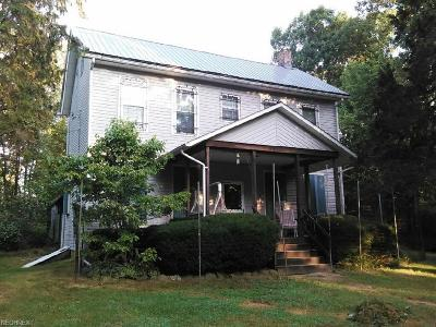 Guernsey County Single Family Home For Sale: 62177 Willow Rd