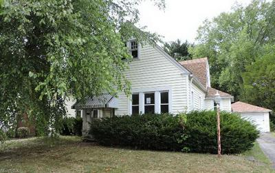 Youngstown OH Single Family Home For Sale: $59,900