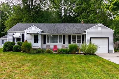 Mentor Single Family Home For Sale: 8060 Edgewood Rd