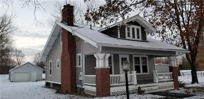 Medina County Single Family Home For Sale: 8887 North Leroy Rd