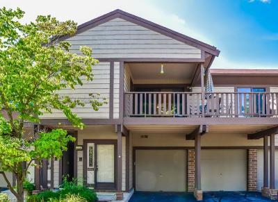 Condo/Townhouse For Sale: 4583 Morgate Cir Northwest