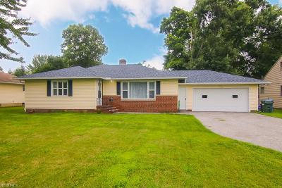 Fairview Park Single Family Home For Sale: 21900 Brookpark Rd