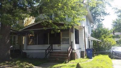 Cleveland Single Family Home For Sale: 877 East 128th St
