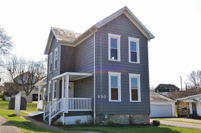 Zanesville OH Single Family Home For Sale: $110,900