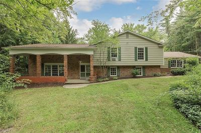 Geauga County Single Family Home For Sale: 8154 Chagrin Rd
