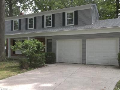 Mentor Single Family Home For Sale: 7195 Hayes Blvd