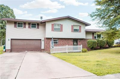 Girard Single Family Home For Sale: 1627 Greenwood