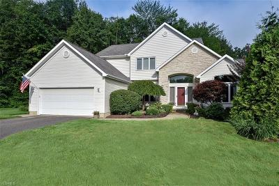 Chagrin Falls Single Family Home Active Under Contract: 123 Button Bush Circle