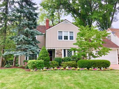 Cleveland Heights Single Family Home For Sale: 3347 Hollister Rd