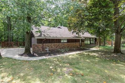 Broadview Heights Single Family Home For Sale: 8906 Cranberry Rdg