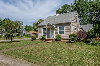 Lorain Single Family Home For Sale: 1062 West 23rd St
