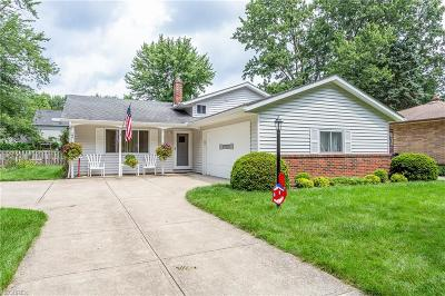North Olmsted Single Family Home For Sale: 24018 Vincent Dr