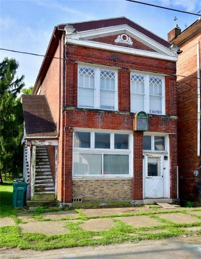 Muskingum County Multi Family Home For Sale: 41 West 2nd St