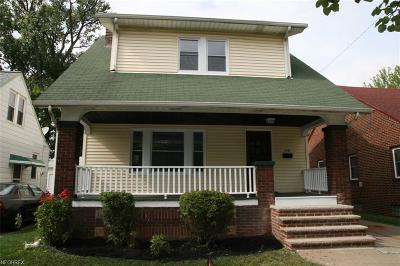 Cleveland Single Family Home For Sale: 14100 Emery Ave