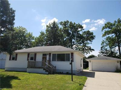 Lorain Single Family Home For Sale: 1221 West 40th St