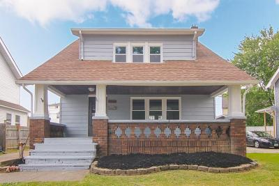 Cleveland Single Family Home For Sale: 3466 West 133rd St