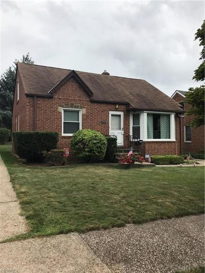 Cleveland OH Single Family Home For Sale: $122,000