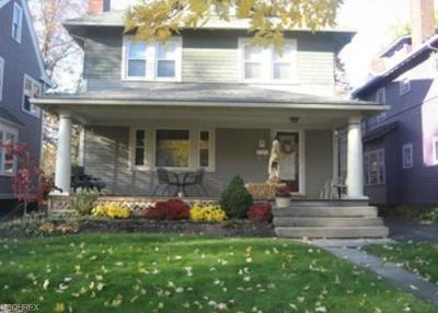 Cleveland Heights Single Family Home For Sale: 3003 Somerton Rd