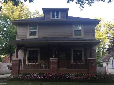 Wadsworth Single Family Home For Sale: 359 Highland Ave